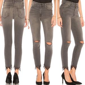 Mother High Waisted Looker Dagger Ankle